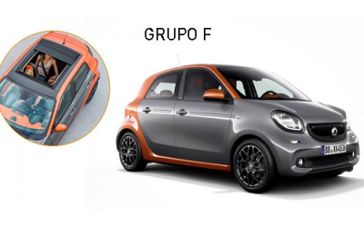 Nuracar - Smart Forfour (sunroof)