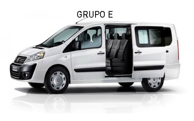 Nuracar - Category E(Fiat Scudo or similar (9 seater)